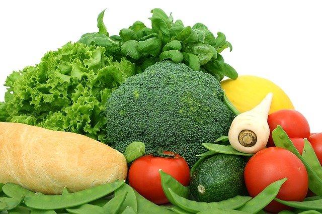 suszone warzywa