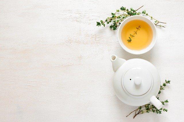 zielona herbata na zimno